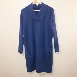 Athleta Medium Blue Activewear Tunic Dress